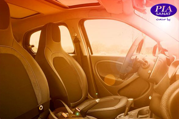 محافظت از ماشین زیر آفتاب